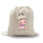 mochila petate vaquita como regalo para bebés